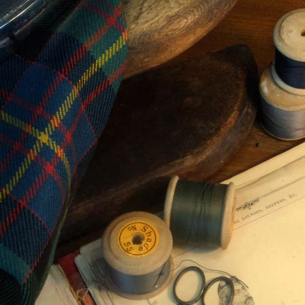 Kilt maker supplies